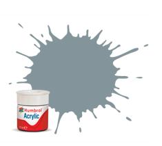 Humbrol AB0087 87 Steel Grey Matt Acrylic Paint 14ml