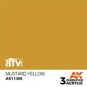AK-Interactive AK 11366 Mustard Yellow 17ml
