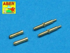 Aber A48 010 Set of 2 barrels for German aircraft 30mm machine cannons MK 108 with blast tube (1:48)