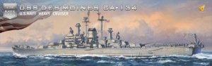 Very Fire VF350918DX USS Des Moines CA-134 1/350