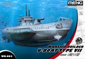 Meng Model WB-003 Warship Builder U-BOAT TYPE VII
