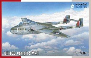 Special Hobby 72383 DH.100 Vampire Mk. I 'RAF, RAAF and Armée de l'Air' 1/72
