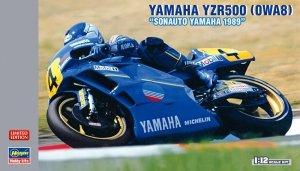 Hasegawa 21709 Yamaha YZR500 Sonauto 1989 Limited Edition (1:12)
