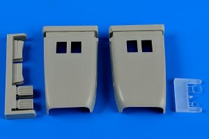 Aires 4653 MiG-23 MF/ML Flogger correct air intakes 1/48 Trumpeter