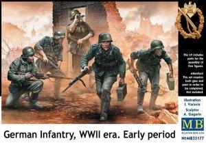 Master Box 35177 German Infantry WWII era. Early period 1/35