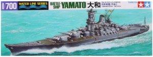 Tamiya 31113 Japanese Battleship Yamato 1/700