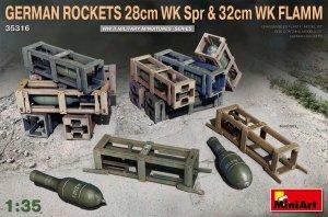 MiniArt 35316 GERMAN ROCKETS 28cm WK Spr & 32cm WK FLAMM 1/35