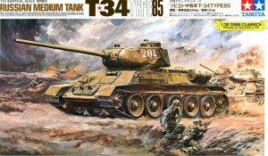 Tamiya 89569 Russian Tank T34 Type 85 (1:25)