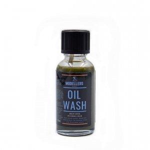 Modellers World MWW004 Oil Wash: Spleśniała zieleń (Moldy green) 30ml