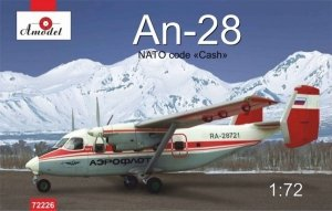 A-Model 72226 An-28 Nato code CASH 1:72