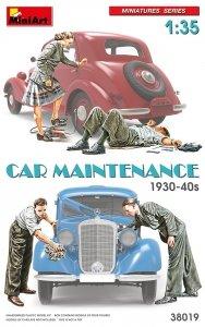 MiniArt 38019 Car Maintenance 1930-40s 1/35