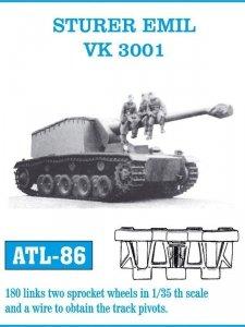 Friulmodel 1:35 ATL-86 STURER EMIL / VK 3001
