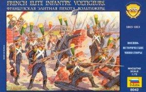 Zvezda 8042 French Elite Infantry Voltigeurs 1/72