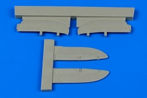 Aires 7340 I-153 Chaika control surfaces 1/72 ICM