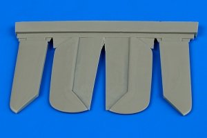Aires 4638 Bf 108B control surfaces 1/48 Eduard