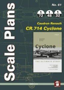 Stratus 58242 Scale Plans No. 61 Caudron-Renault CR.714 Cyclone