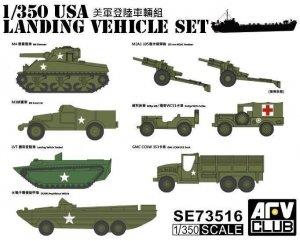 AFV Club SE73516 USA Landing Vehicle Set 1/350