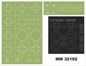 Montex MM32192 Fiat CR-42 LW 1/32