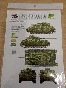 Border Model BD0106 Pz. Kpfw IV Ausf. G Late Masks 1/35