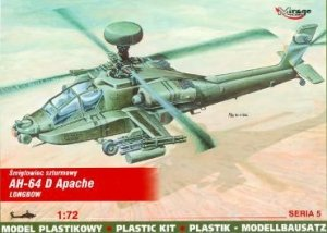 Mirage Hobby 72054 AH-64 D Apache-Longbow (1:72)