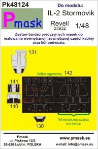 P-Mask PK48124 IL-2 Stormovik (Revell 03932) 1/48