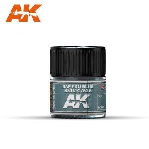 AK Interactive RC297 RAF PRU BLUE BS381C/636 – 10ML