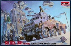 Roden 702 Sd.Kfz.231 (8-Rad) Schwerer Panzerspahwagen