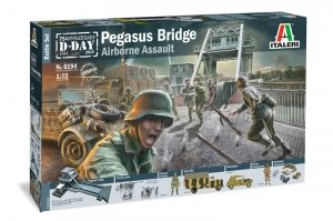 Italeri 6194 PEGASUS BRIDGE - D.Day 75Ann.1944-2019 - BATTLE SET 1/72