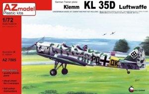 AZ Model AZ7505 Klemm KL 35D Luftwaffe