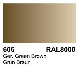 Vallejo 70606 Surface German Green Brown RAL 8000 17ml.