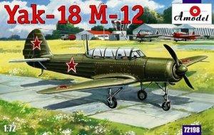 A-Model 72198 Soviet Yakovlev Yak-18 M-12 Two-Seat Trainer plane 1:72