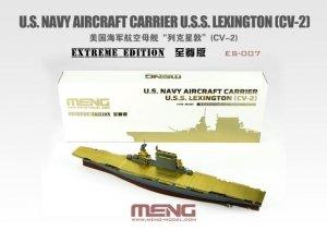 Meng Model ES-007 U.S. Navy Aircraft Carrier U.S.S. Lexington (Cv-2) Extreme Edition 1/700