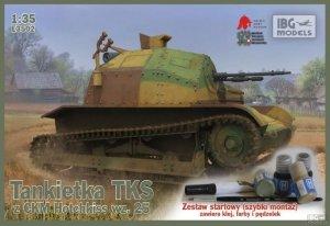 IBG E3502 Tankietka TKS z CMK Hotchkiss wz.25 (1:35)