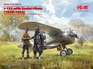 ICM 32013 I-153 with Soviet Pilots (1939-1942) 1/32