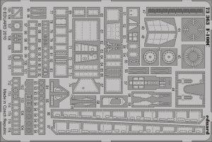 Eduard 73363 F-100C S. A. 1/72 TRUMPETER