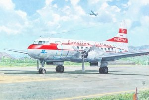Roden 334 Convair CV-340 1/144
