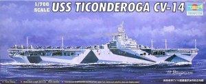 Trumpeter 05736 USS Ticonderoga CV-14 1/700