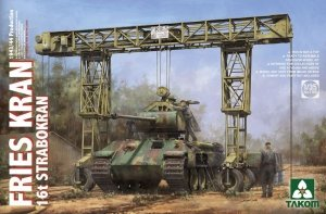 Takom 2109 FRIES KRAN 16t Strabokran, 1943/44 Production 1/35