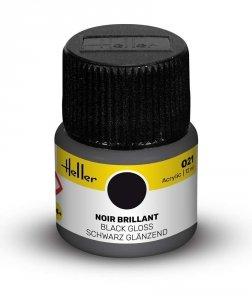 Heller 9021 021 Black - Gloss 12ml