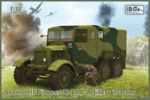 IBG 72078 Scammell Pioneer R100 Artillery Tractor 1/72