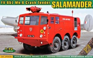 Ace 72434 FV-651 Mk.6 Crash Tender Salamander 1/72