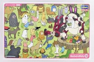 Hasegawa 64763 MechatroWeGo 10 Animal 'Retro & Azuki' 1:35