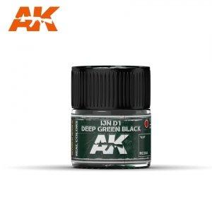 AK Interactive RC304 IJN D1 DEEP GREEN BLACK 10ML