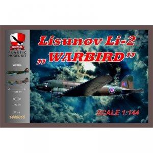 Big Model 1440016 LISUNOV Li-2 WARBIRD 1/144