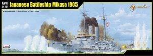MERIT 62004 Japanese Battleship Mikasa 1905 (1:200)