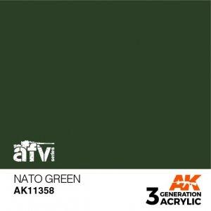 AK-Interactive AK 11358 NATO Green 17ml