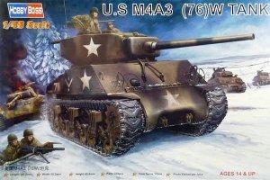 Hobby Boss 84805 U.S M4A3 (76W) TANK (1:48)