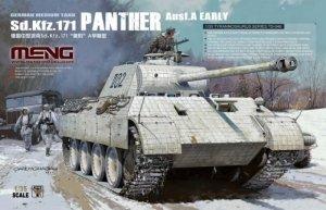 Meng Model TS-046 German Medium Tank Sd.Kfz. 171 Panther Ausf. A Early 1/35