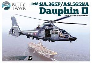 Kitty Hawk 80108 SA.365F Dauphin II 1/48