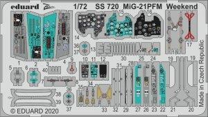 Eduard SS720 MiG-21PFM Weekend 1/72 EDUARD